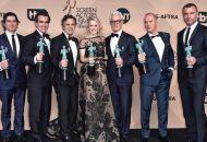 spotlight cast mark ruffalo michael keaton sag awards