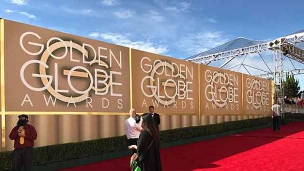 Golden Globe Entrance Signs
