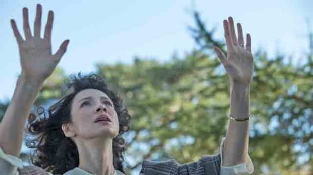caitriona balfe travels back in time 'Outlander:' Every Episode Ranked from Least Liked to Best 8.6 -- 'Sassenach'