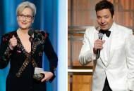 2017 Golden Globe Awards Show Review meryl streep jimmy fallon