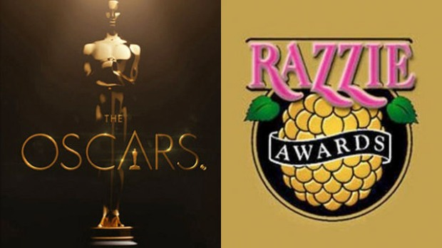Films Nominated for Oscars and Razzies