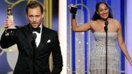Golden Globe TV Reactions tom hiddleston tracee ellis ross