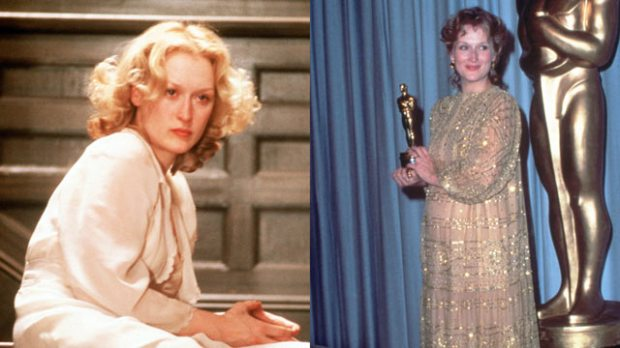 "Meryl Streep Oscar nominations ""Sophie's Choice"""