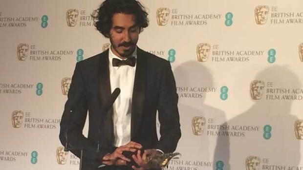 Dev-Patel-Lion-BAFTAs
