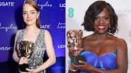 Emma Stone Viola Davis BAFTA