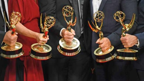 Emmy Statues Atmosphere