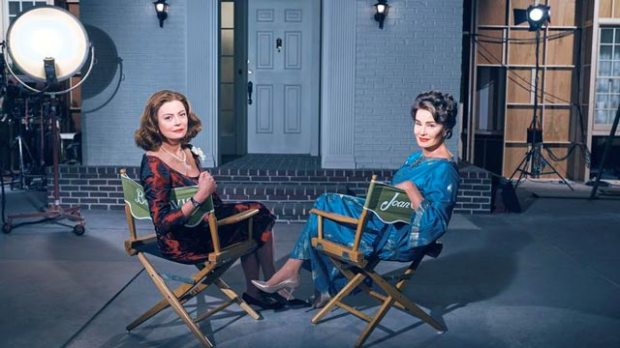Feud Bette and Joan cast Jessica Lange Susan Sarandon