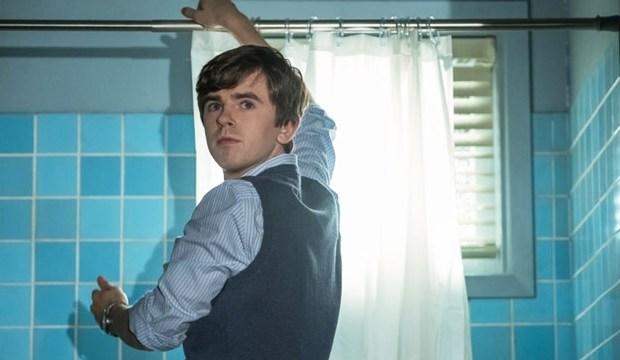 Bates Motel Top 10 Moments Sneak Peak Season 5 Norman Hangs a Shower Curtain