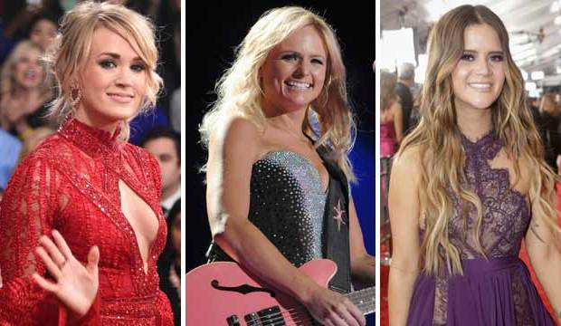 miranda lambert carrie underwood maren morris acm awards