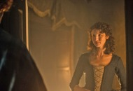 Jamie sleeps outside Claire's door Caitriona Balfe Sam Heughan 'Outlander:' Sweetest, Steamiest, Hottest, Sexiest, Most Passionate Romantic Scenes of all time