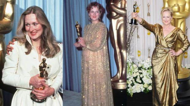 Meryl Streep's 3 Oscar Wins