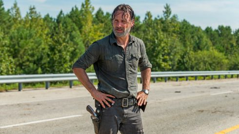 rick the walking dead andrew lincoln
