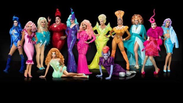 rupauls drag race season 9 cast