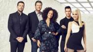 the voice coaches adam levin alicia keys blake shelton gwen stefani