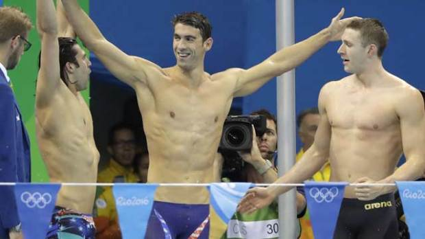michael phelps 2016 summer olympic games rio de janeiro