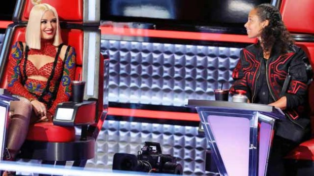 The Voice Battle Coaches Gwen Stefani Alicia Keys