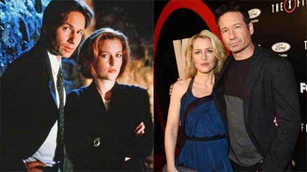 david duchovny gillian anderson the x-files where are they now