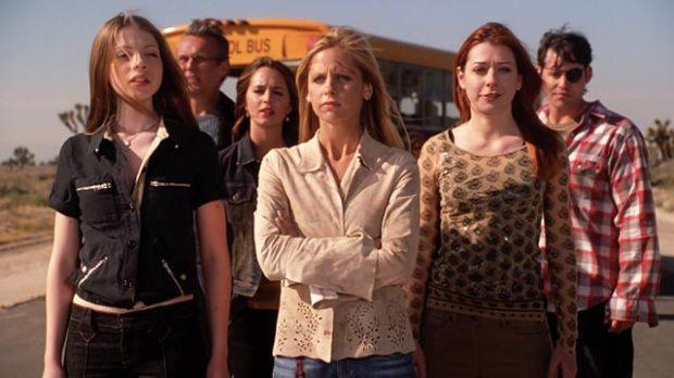 sarah michelle gellar buffy the vampire slayer cast chosen series finale