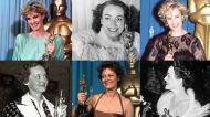 Six Oscars Four Great Actresses-- One Legendary 'Feud' Oscars: Bette and Joan -- Susan and Jessica