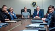 Paul Sparks, Jayne Atkinson, Robin Wright, Kevin Spacey & Derek Cecil in 'House of Cards'