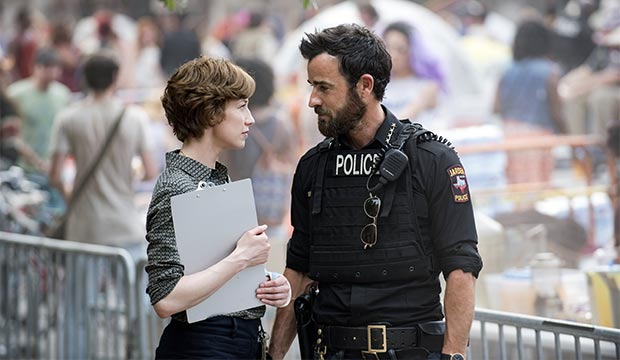 Carrie Coon & Justin Theroux in the final season of 'The Leftovers'
