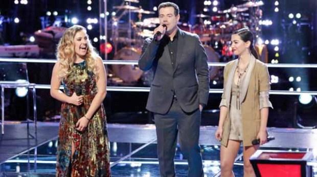 The Voice Knockouts Ashley Levin Lilli Passero