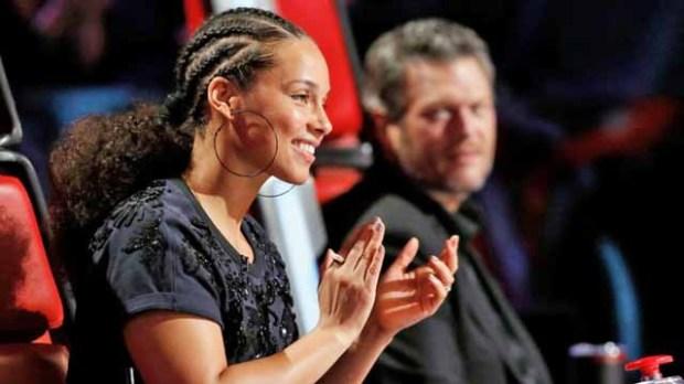 The Voice Knockouts Coach Alicia Keys