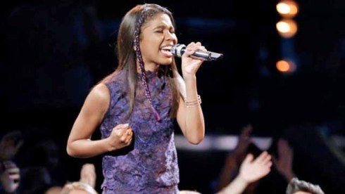 The Voice Live Playoffs Aliyah Moulden