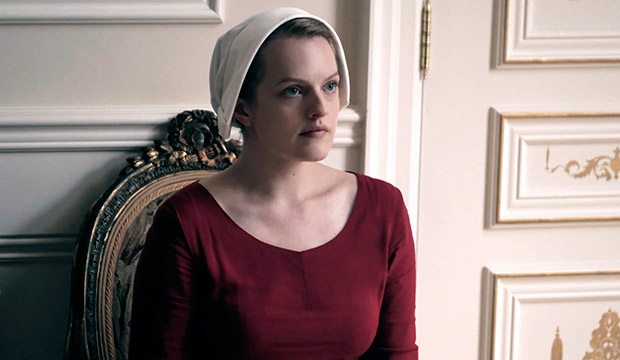 Elisabeth Moss as Offred in Hulu's 'The Handmaid's Tale'