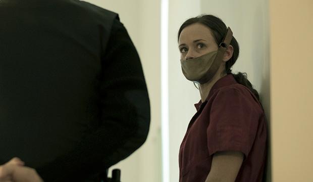 Alexis Bledel as Ofglen in Hulu's 'The Handmaid's Tale'