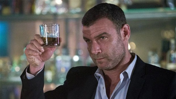 Liev Schreiber making a toast in 'Ray Donovan' season 4