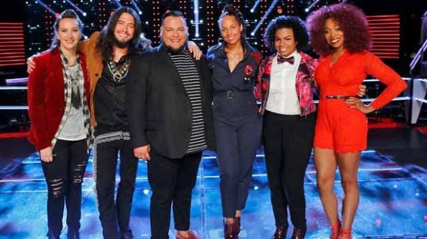The Voice Team Alicia Keys