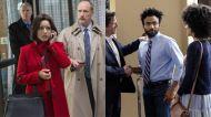 Julia Louis-Dreyfus in HBO's 'Veep' & Donald Glover in FX's 'Atlanta'
