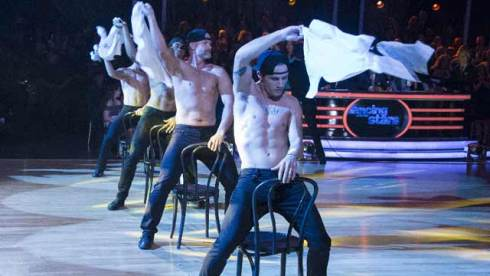 dancing with the stars team boy band dwts