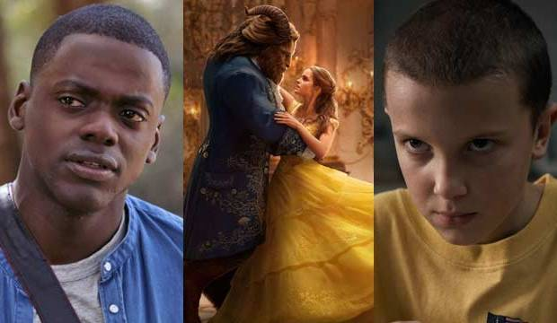 mtv movie and tv award nominations get out beauty and the beast stranger things