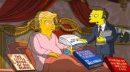 the simpsons donald trump first 100 days