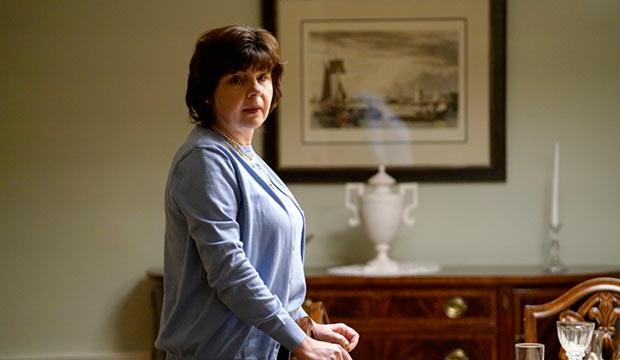 "Irina Dubova as Natalie Granholm in the ""Dyatkovo"" episode of 'The Americans' season 5"