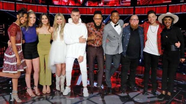 The Voice Top 10 Season 12 Artists