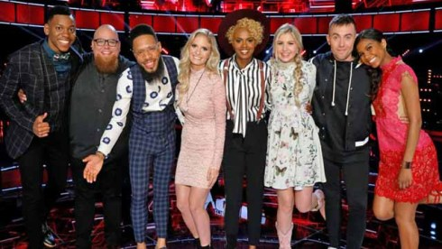 The Voice Top 8 Season 12 Artists
