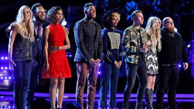 The Voice Top 8 Results