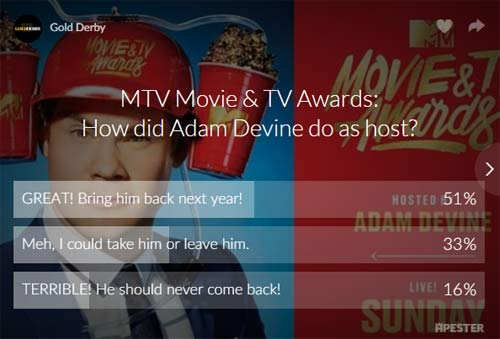 adam devine mtv movie and tv awards host