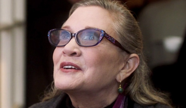 carrie fisher catastrophy