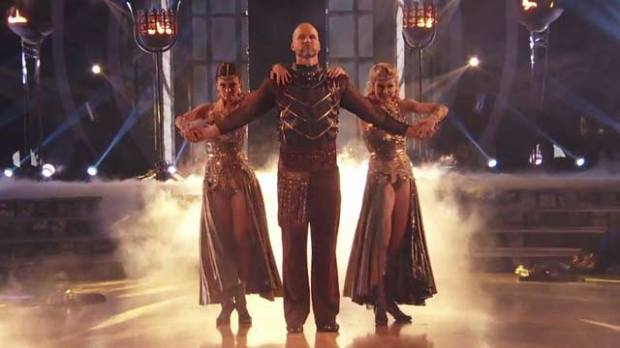 david ross dancing with the stars trio dance dwts