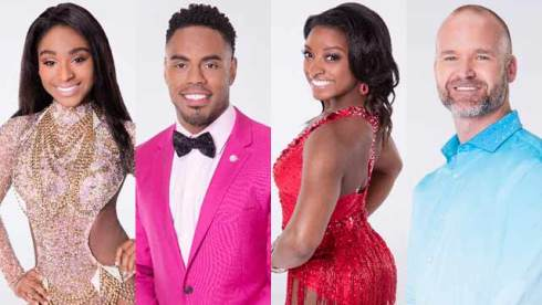 dancing with the stars normani kordei rashad jennings simone biles david ross