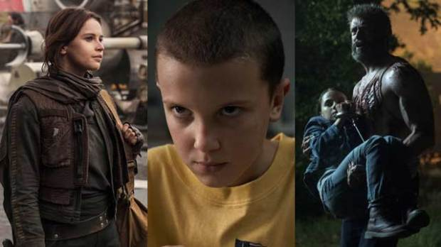 rogue one stranger things logan mtv movie and tv awards