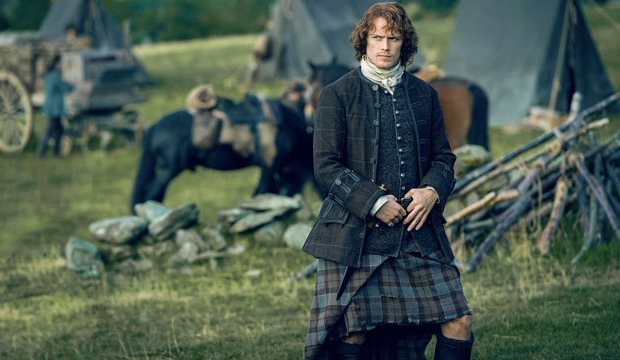 Plaid (or Tartan) is sexy in a new way!-15 reasons you secretly (or not so secretly) love Sam Heughan of 'Outlander'