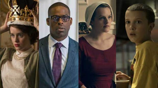 Best-Drama-Series---The-Crown-This-Is-Us-Handmaids-Tale-Stranger-Things