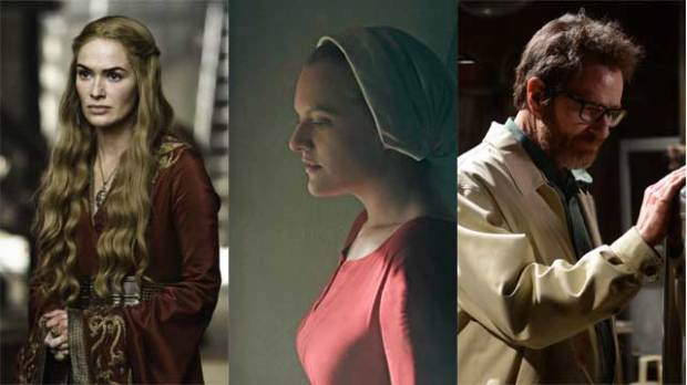 emmy best drama series game of thrones the handmaid's tale breaking bad