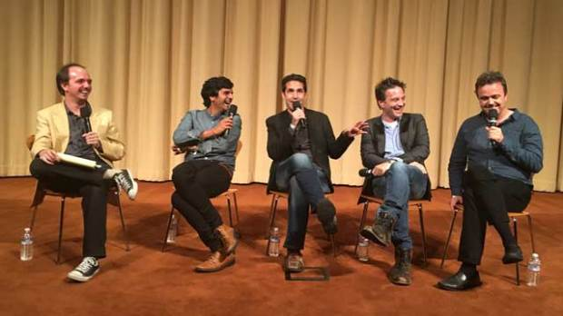 SCL Composers Panel Siddharta Khosla Mac Quayle Jeff Russo Sean Callery