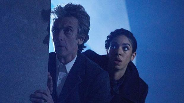 peter capaldi pearl mackie doctor who the lie of the land